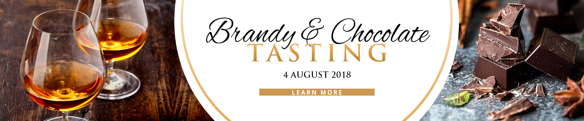 BRANDY PAIRED WITH CHOCOLATE INCLUDING A 5 COURSE MEAL AT MISTY HILLS COUNTRY HOTEL MULDERSDRIFT